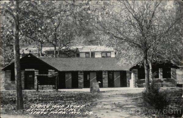 Office and store, Bennett Springs State Park Lebanon Missouri