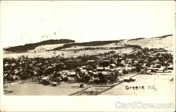 Aerial View of Town Greene New York