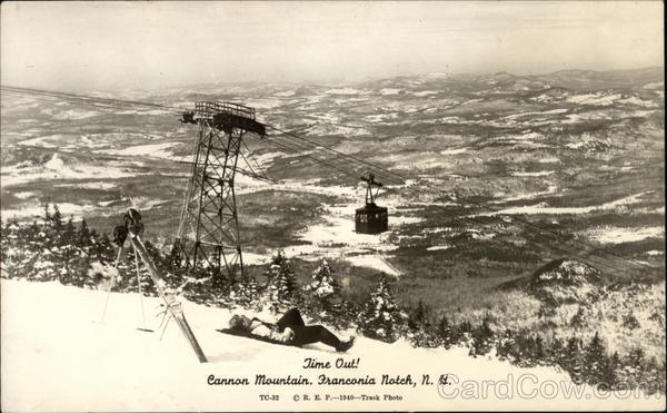 Time Out! Cannon Mountain Tramway Franconia New Hampshire