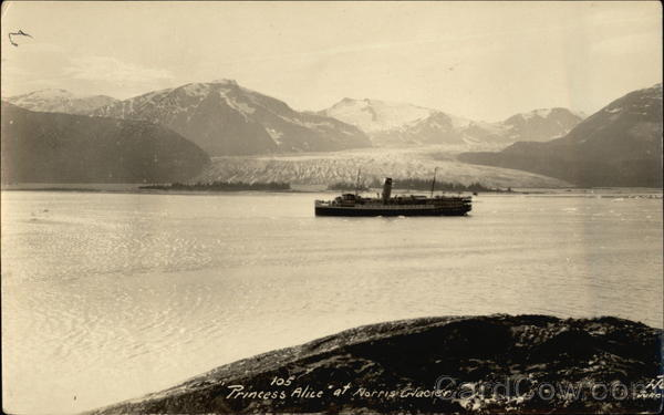 Princess Alice at Norris Glacier Juneau Alaska Boats, Ships