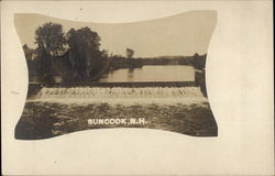 Suncook River Postcard