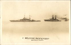 Welcome Pacific Fleet