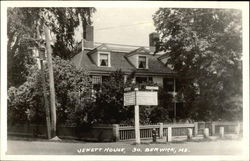 Jewett House, So. Berwick, Me