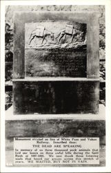 Monument to Klondike Gold Rush