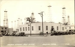 United States Post Office, Oil Wells Postcard