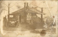 Dwinell's Filling Station - Socony Gasoline