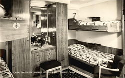 "Canadian Pacific ""Empress of England"" - Tourist Cabin"