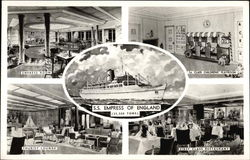 Views of SS Empress of England