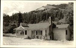 Humbug Mountain Coffee Shop & Lodge Postcard