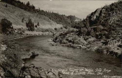 Rogue River at Hells Gate Gorge