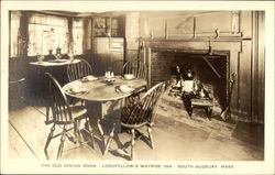 Longfellow's Wayside Inn - The Old Dining Room Postcard
