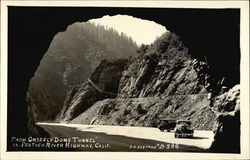 Grizzly Dome Tunnel, Feather River Highway Postcard
