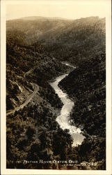 The Feather River Canyon