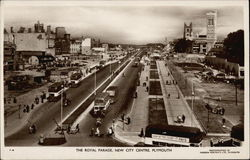 The Royal Parade, New City Centre Postcard