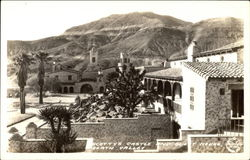Scotty's Castle and Guest House Postcard