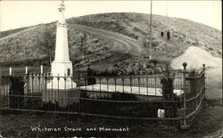 Whitman Grave and Monument