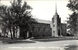 View of Lutheran Church Postcard