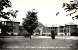 Administrative Building, Federal Hospital Postcard