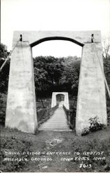 Swing Bridge, Entrance to Baptist Assembly Grounds