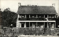 Original Elkhorn Tavern on Pea Ridge Battlefield