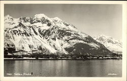 View of Glaciers Postcard