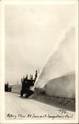 Rotary Plow at Summit, Snoqualmie Pass