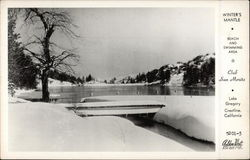 Club San Moritz, Lake Gregory - Beach and Swimming Area in Winter