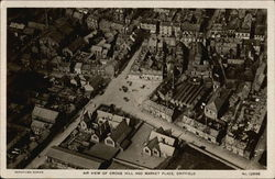 Air View of Cross Hill and Market Place