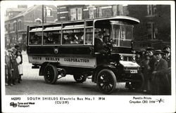 South Shields Electric Bus No.1 1914