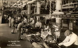An Assembly Line of the Ford Motor Company