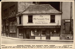 "Charles Dickens' ""Old Curiosity Shop"" Postcard"