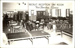 Recruit Reception Day Room Postcard