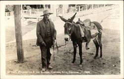 Prospector and his Burro 1900