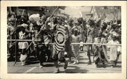 Tiger Hunters in Parade