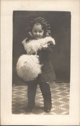 Little Girl with Furr Muff