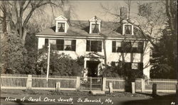 Home of Sarah Orne Jewett