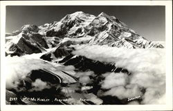 Mt. McKinley from the Air Postcard