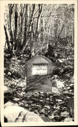 "Jefferson ""Soapy"" Smith's Grave Postcard"