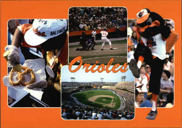 Take Me Out to the Ballgame - The Orioles play all their home games at Memorial Stadium Baltimore Maryland