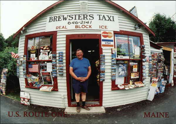 Brewster's Taxi, Store Ogunquit Maine