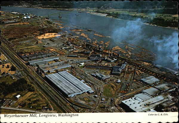 Weyerhaeuser Timber Co  Plant