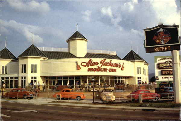 Alan Jackson Showcar Cafe Pigeon Forge Tennessee