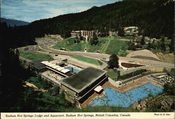 Radium Hot Springs (BC) Canada  city images : Radium Hot Springs Lodge and Aquacourt Canada British Columbia