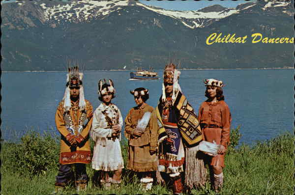 Chilkat Dancers Native Americana