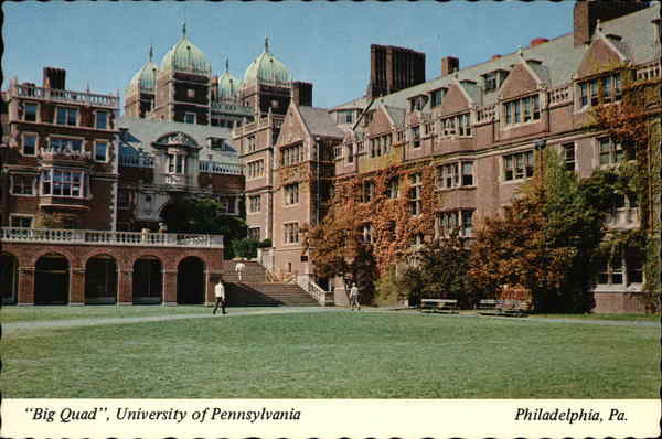 University of Pennsylvania - Big Quad Men's Dormitories Philadelphia