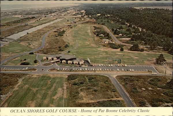 Ocean Shores Golf Course - Home of Pat Boone Celebrity Classic Washington
