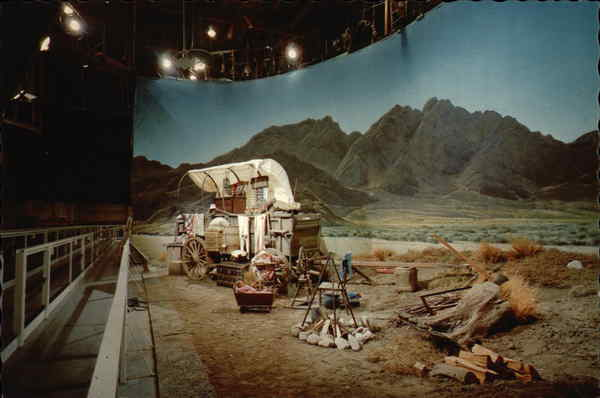 Western Set on Sound Stage at Universal Studios Amusement Parks