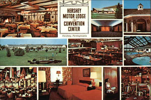 Hershey motor lodge convention center for Civic center motor lodge