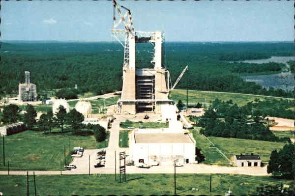 Saturn V Test Stand at Marshall Space Flight Center ...