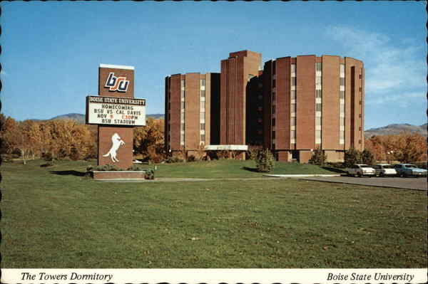 The Towers Dormitory, Boise State University Idaho